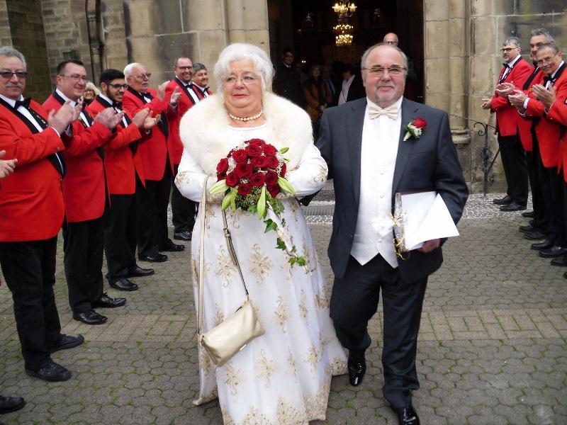 Werner Und Irmgard Pawelkiewicz Feierten Goldene Hochzeit